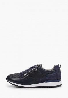 Кроссовки, Caprice, цвет: синий. Артикул: CA107AWIAEM8. Обувь / Обувь с увеличенной полнотой