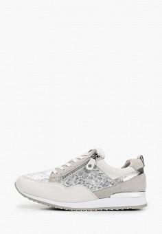 Кроссовки, Caprice, цвет: серый. Артикул: CA107AWIAEN0. Обувь / Обувь с увеличенной полнотой