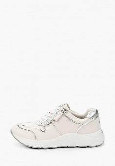 Кроссовки, Caprice, цвет: белый. Артикул: CA107AWIAEO6. Обувь / Обувь с увеличенной полнотой