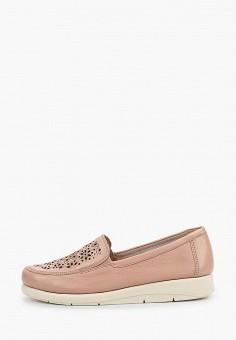 Лоферы, Caprice, цвет: розовый. Артикул: CA107AWIAEQ8. Обувь / Туфли / Лоферы