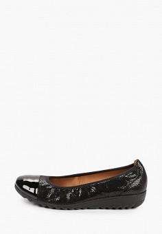 Балетки, Caprice, цвет: черный. Артикул: CA107AWJXUI2. Обувь / Балетки