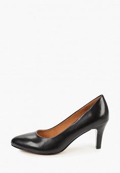 Туфли, Caprice, цвет: черный. Артикул: CA107AWJXUK9. Обувь / Туфли