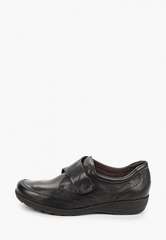Ботинки, Caprice, цвет: черный. Артикул: CA107AWJXUN9. Обувь / Ботинки / Низкие ботинки
