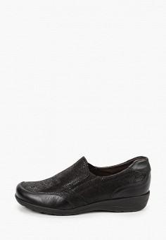 Лоферы, Caprice, цвет: черный. Артикул: CA107AWJXUO2. Обувь / Обувь с увеличенной полнотой