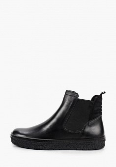 Ботинки, Caprice, цвет: черный. Артикул: CA107AWJXUT4. Обувь / Ботинки / Челси
