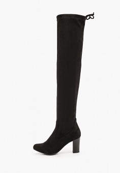 Ботфорты, Caprice, цвет: черный. Артикул: CA107AWJXUU9. Обувь / Сапоги / Ботфорты