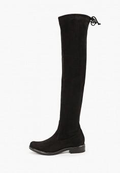 Ботфорты, Caprice, цвет: черный. Артикул: CA107AWJXUV0. Обувь / Сапоги / Ботфорты