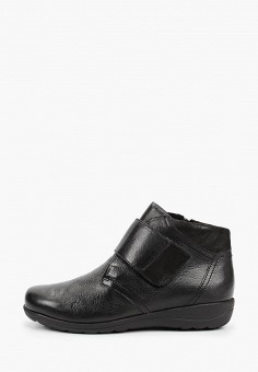 Ботинки, Caprice, цвет: черный. Артикул: CA107AWJXUW0. Обувь / Ботинки / Высокие ботинки