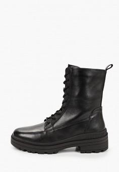 Ботинки, Caprice, цвет: черный. Артикул: CA107AWJXUX9. Обувь / Ботинки / Высокие ботинки