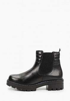Ботинки, Caprice, цвет: черный. Артикул: CA107AWJXUZ9. Обувь / Ботинки / Челси