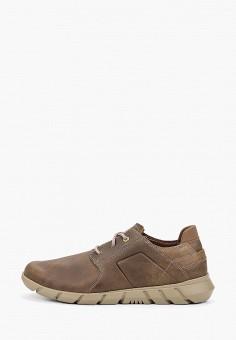 Ботинки, Caterpillar, цвет: бежевый. Артикул: CA213AMGEUD6. Обувь / Ботинки / Низкие ботинки