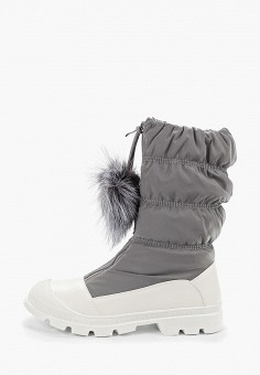 Дутики, Calipso, цвет: серый. Артикул: CA549AWCWWZ2. Обувь / Сапоги / Дутики