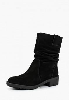 Полусапоги, Calipso, цвет: черный. Артикул: CA549AWCWYN0. Обувь / Сапоги / Полусапоги