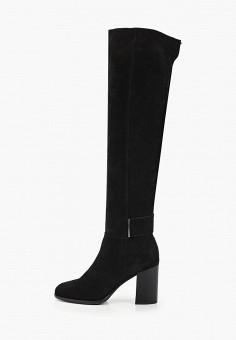 Ботфорты, Calipso, цвет: черный. Артикул: CA549AWGOIM3. Обувь / Сапоги / Ботфорты