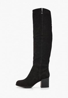 Ботфорты, Calipso, цвет: черный. Артикул: CA549AWGOIP5. Обувь / Сапоги / Ботфорты