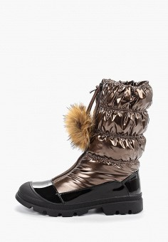 Дутики, Calipso, цвет: коричневый. Артикул: CA549AWGOJG8. Обувь / Сапоги / Дутики
