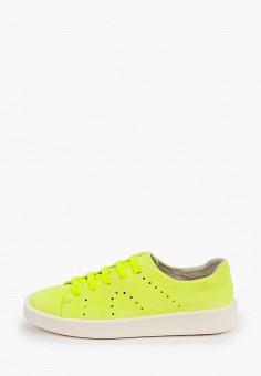 Кеды, Camper, цвет: желтый. Артикул: CA555AMIAUD1. Обувь / Кроссовки и кеды / Кеды