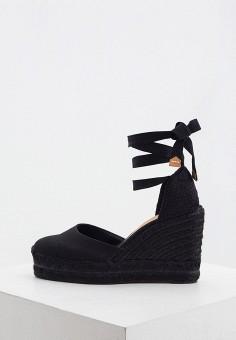 Эспадрильи, Castaner, цвет: черный. Артикул: CA991AWHTBA4. Обувь / Туфли