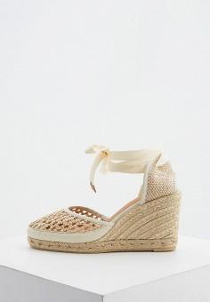 Эспадрильи, Castaner, цвет: бежевый. Артикул: CA991AWIKNF2. Обувь / Туфли