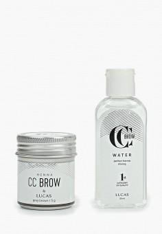 Набор для макияжа бровей, CC Brow, цвет: серый. Артикул: CC003LWEOWW6. Красота / Макияж