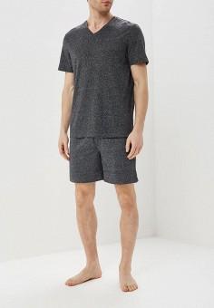 Пижама, Celio, цвет: серый. Артикул: CE007EMEEXS4. Одежда / Домашняя одежда