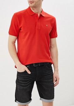 Поло, Celio, цвет: красный. Артикул: CE007EMEEXX6. Одежда / Футболки и поло