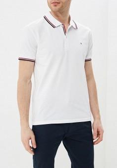 Поло, Celio, цвет: белый. Артикул: CE007EMEEYI7. Одежда