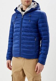 Куртка утепленная, Celio, цвет: синий. Артикул: CE007EMEEYV2. Одежда / Верхняя одежда / Демисезонные куртки