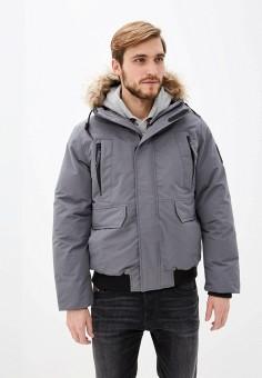 Куртка утепленная, Celio, цвет: серый. Артикул: CE007EMFKMB4. Одежда / Верхняя одежда / Пуховики и зимние куртки / Зимние куртки