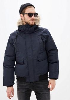 Куртка утепленная, Celio, цвет: синий. Артикул: CE007EMFKMB5. Одежда / Верхняя одежда / Пуховики и зимние куртки / Зимние куртки
