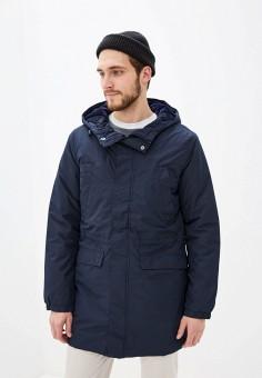 Куртка утепленная, Celio, цвет: синий. Артикул: CE007EMFKME0. Одежда / Верхняя одежда / Пуховики и зимние куртки