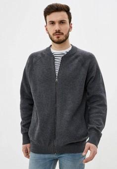 Кардиган, Celio, цвет: серый. Артикул: CE007EMHNPC7. Одежда / Джемперы, свитеры и кардиганы / Кардиганы