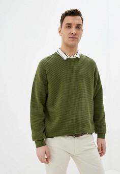 Джемпер, Celio, цвет: зеленый. Артикул: CE007EMHNPD0. Одежда / Джемперы, свитеры и кардиганы / Джемперы и пуловеры