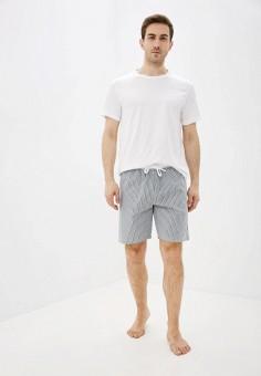 Пижама, Celio, цвет: белый, серый. Артикул: CE007EMHNPG3. Одежда / Домашняя одежда