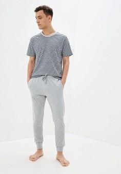 Костюм домашний, Celio, цвет: серый. Артикул: CE007EMHNPG4. Одежда / Домашняя одежда