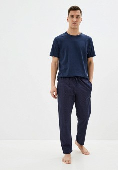 Пижама, Celio, цвет: синий. Артикул: CE007EMHNPH0. Одежда / Домашняя одежда