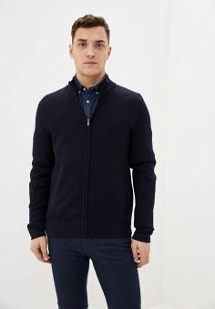 Кардиган, Celio, цвет: синий. Артикул: CE007EMHNQJ7. Одежда / Джемперы, свитеры и кардиганы / Кардиганы