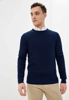 Джемпер, Celio, цвет: синий. Артикул: CE007EMHNQK0. Одежда / Джемперы, свитеры и кардиганы / Джемперы и пуловеры