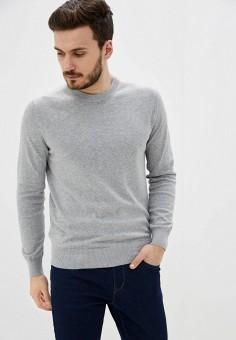 Джемпер, Celio, цвет: серый. Артикул: CE007EMHNQK6. Одежда / Джемперы, свитеры и кардиганы / Джемперы и пуловеры