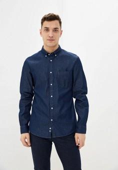 Рубашка джинсовая, Celio, цвет: синий. Артикул: CE007EMHNQL5. Одежда / Рубашки