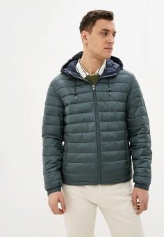 Куртка утепленная, Celio, цвет: зеленый. Артикул: CE007EMIOIK8. Одежда / Верхняя одежда / Демисезонные куртки