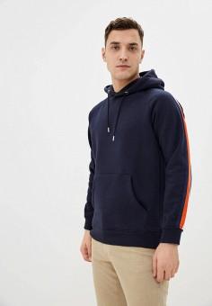 Худи, Celio, цвет: синий. Артикул: CE007EMIOIM4. Одежда / Толстовки и олимпийки / Худи