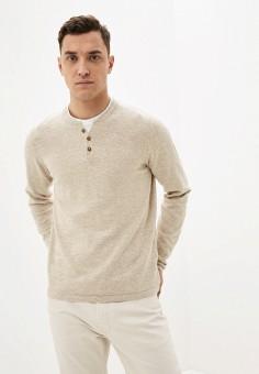 Джемпер, Celio, цвет: бежевый. Артикул: CE007EMIOIM8. Одежда / Джемперы, свитеры и кардиганы / Джемперы и пуловеры