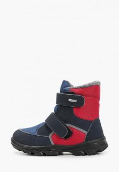 Ботинки, Chicco, цвет: красный. Артикул: CH001ABFSKG5. Мальчикам / Обувь / Ботинки