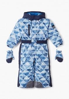 Комбинезон утепленный, Chicco, цвет: синий. Артикул: CH001EBFSJT9. Мальчикам / Одежда / Верхняя одежда