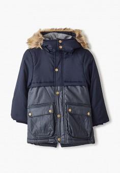 Куртка утепленная, Chicco, цвет: синий. Артикул: CH001EBFSKB3. Мальчикам / Одежда / Верхняя одежда / Куртки и пуховики
