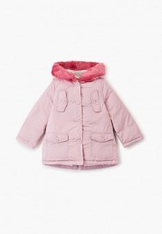 Пуховик, Chicco, цвет: розовый. Артикул: CH001EGFSKB6. Девочкам / Одежда / Верхняя одежда / Куртки и пуховики