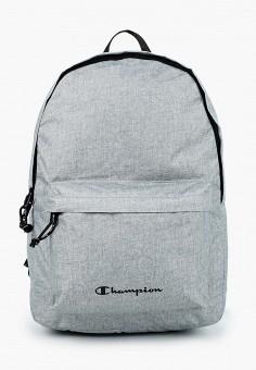 Рюкзак, Champion, цвет: серый. Артикул: CH003BUJILD2. Аксессуары / Рюкзаки