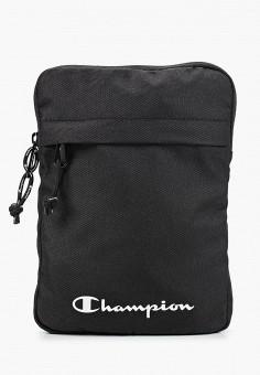 Сумка, Champion, цвет: черный. Артикул: CH003BUJILD7. Аксессуары / Сумки
