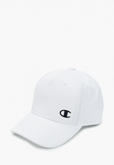 Бейсболка, Champion, цвет: белый. Артикул: CH003CUJILC7. Аксессуары / Головные уборы